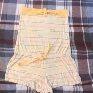 Yellow Candies Romper